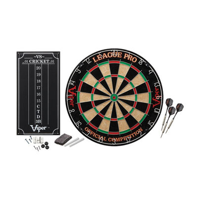 Viper League Pro Sisal Dartboard Kit