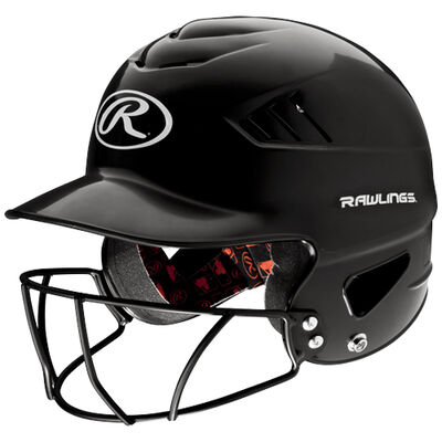 Rawlings Youth Coolflo Batting Helmet With Cage