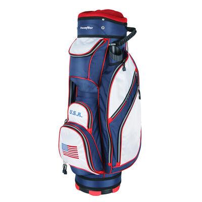 Powerbilt Golf TPS 5400 USA Flag Cart Golf Bag