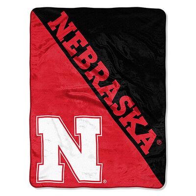 Northwest Co Nebraska Micro Raschel Throw Blanket