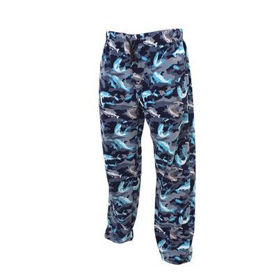 Men's Blue Camo Bass Lounge Pants, , large