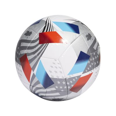 MLS Nativo XXV Training Soccer Ball, Red, White And Blue, large