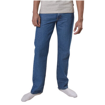 Men's 5 Pocket Classic Relaxed Fit Jeans, , large