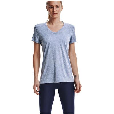 Under Armour Women's Short Sleeve Tech Twist V-Neck Tee