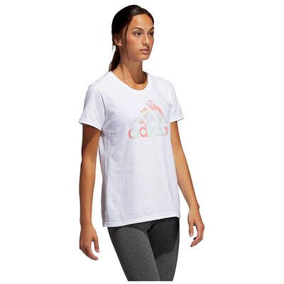 Women's Tie Dye Logo Short Sleeve Tee, , large