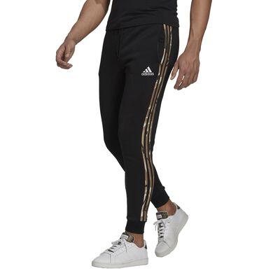 adidas Men's Essentials Fleece Camo-Print Pants
