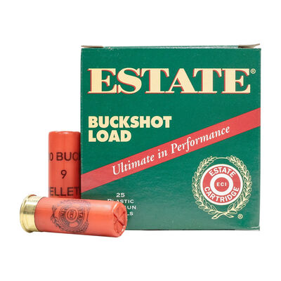 Estate Cartridg 00 12 Gauge Buckshot