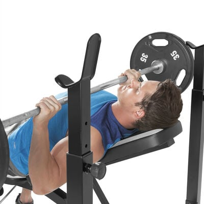 MWB-4491 Olympic Weight Bench, , large