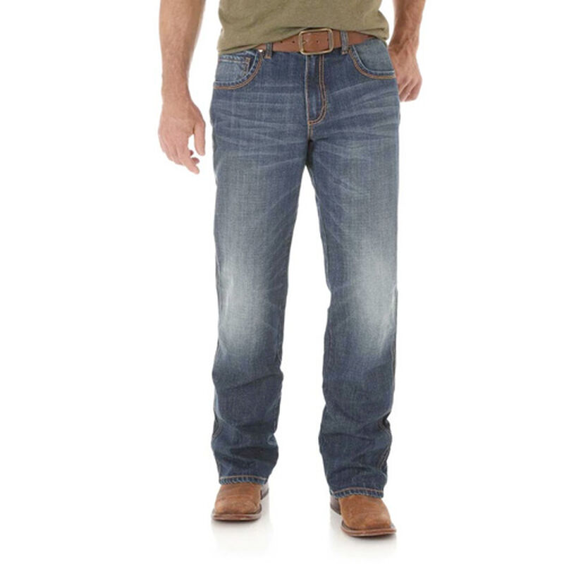 Men's Retro Relaxed Bootcut Jeans, , large image number 0