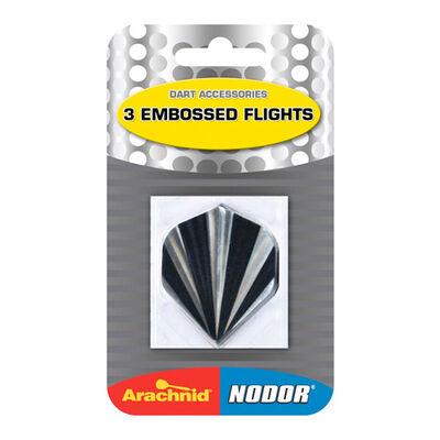 Dmi Sports Embossed Flights - 3-Packs