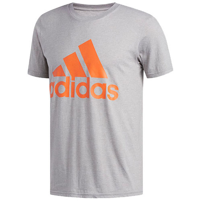 Men's Badge of Sport Classic Short Sleeve Tee, Heather Gray, large image number 0