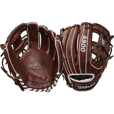 """Adult 11.5"""" A900 Series Baseball Glove, Right Hand Throw, , large"""