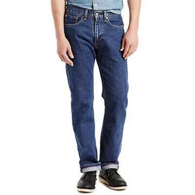 Levi's Men's 505 Darkwash Regular Jeans