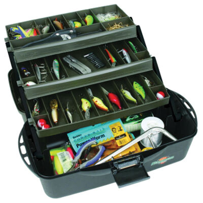 Flambeau XL 3-Tray Tackle Box