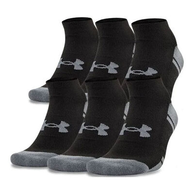 Under Armour Resistor 3.0 No Show Sock 6-Pack
