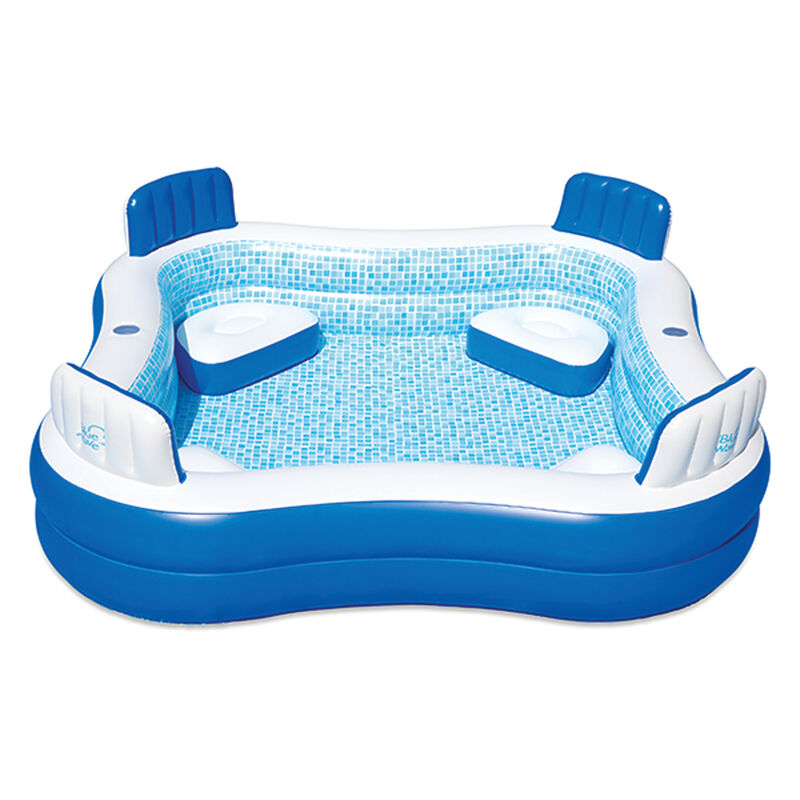 Inflatable Premier Pool With Cover, , large image number 0