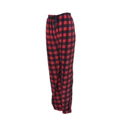 Women's Buffalo Plaid Loungewear Pants, , large