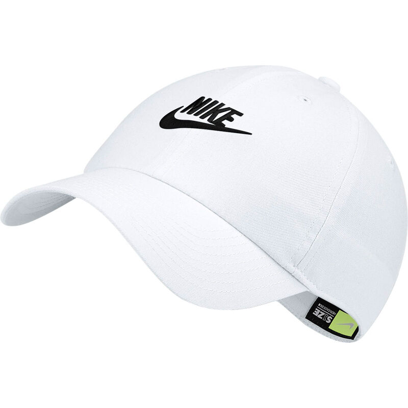 Men's Heritage86 Futura Cap, White/Black, large image number 0