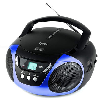Tyler Portable Sport Stereo CD Player with AM/FM Radio