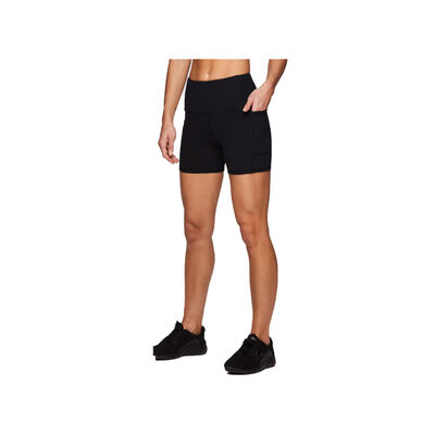 """Rbx Women's 5"""" Peached Bike Pocketed Shorts"""