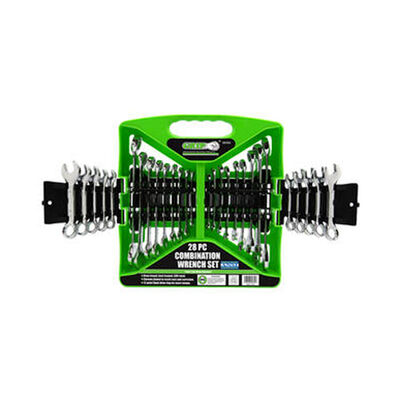 Grip On Grip On Tools Combo Wrench Set 28-Piece