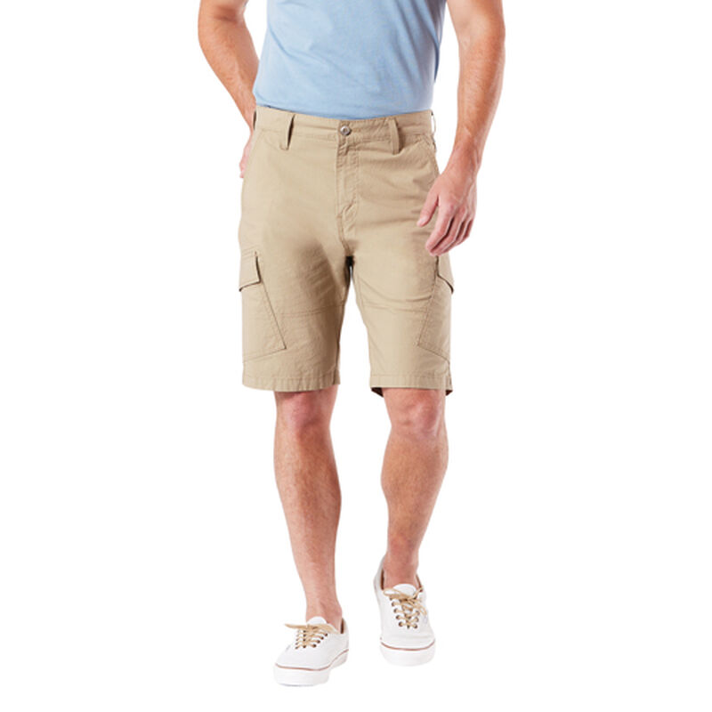 Men's Straight Fit Cargo Shorts, Heather Gray, large image number 3
