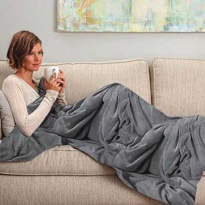 Snuggle Me 12-lb. Weighted Blanket