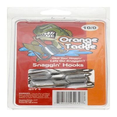 Orange Tackle Snaggin Hooks