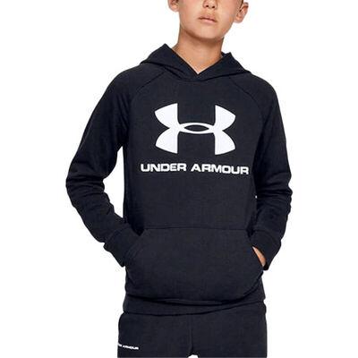 Under Armour Boys' Rival Raglan Big Logo Hoodie