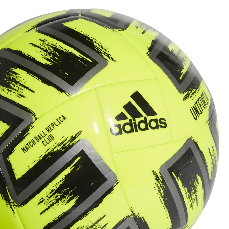 Uniforia Club Soccer Ball, Neon Yellow, large image number 0