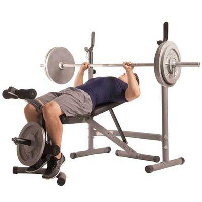 Body Champ BCB3780 2pc Olympic Weight Bench