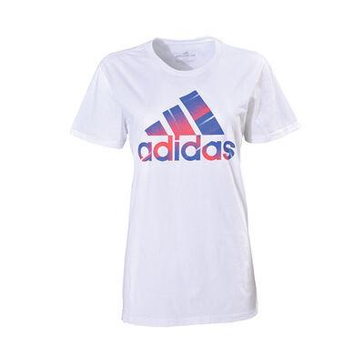 adidas Women's Unite Logo Short Sleeve Tee
