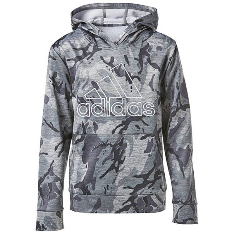 Boys' Camo Pull-Over Hoodie, , large image number 0