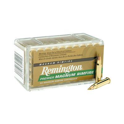 Remington .22 Winchester Magnum Rimfire 33 Grain Ammunition