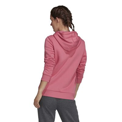 Women's Loungewear Essentials Logo Fleece Hoodie, , large