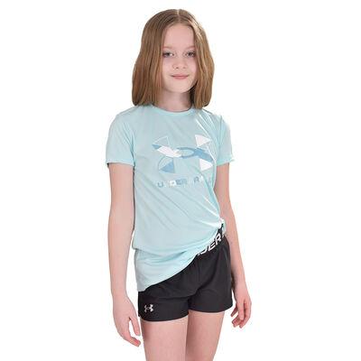 Girls' Short Sleeve Tech Graphic Tee, , large