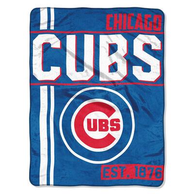 Northwest Co Chicago Cubs Micro Raschel Throw Blanket