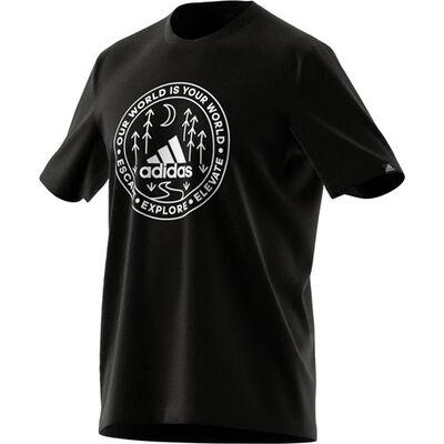 adidas Men's Outdoor Badge of Sport Tee