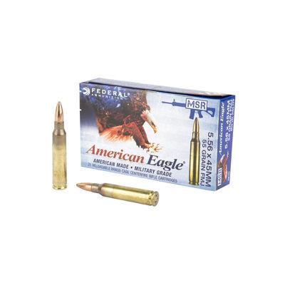 Federal 5.56mm 55gr FMJ Ammunition