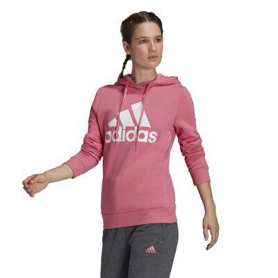 adidas Women's Loungewear Essentials Logo Fleece Hoodie