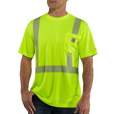 Carhartt Men's Short Sleeve Force High-Visibility Class 2 Tee