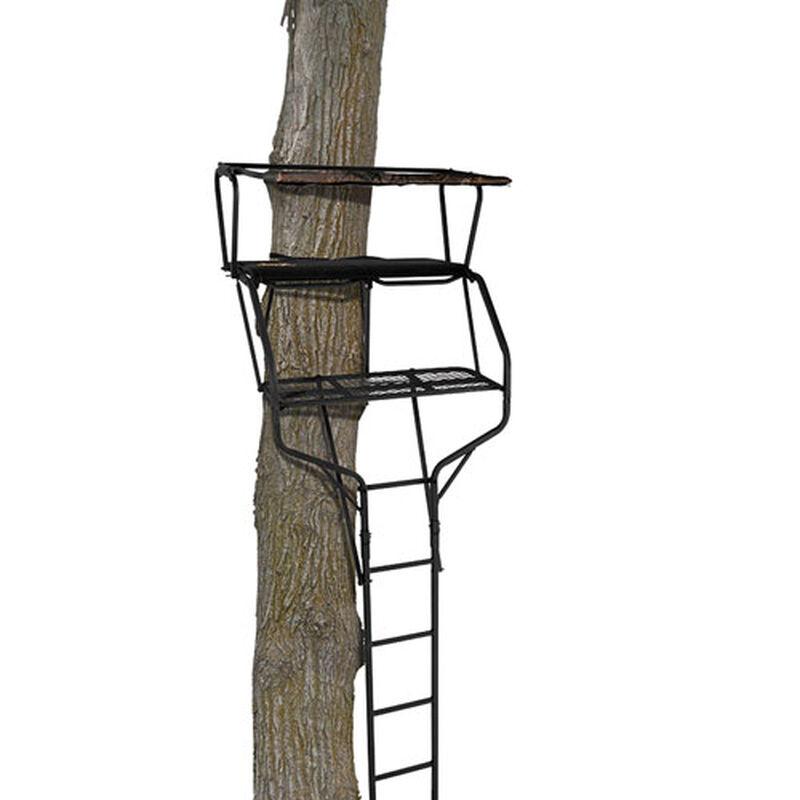 18' Crossfire XT 2 Man Ladder Treestand, , large image number 0