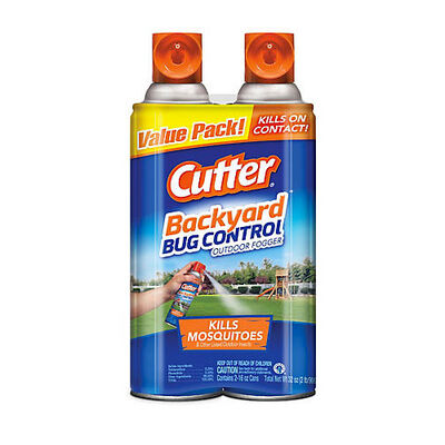 Cutter Backyard Bug Control 16-Ounce Outdoor Insect Fogger