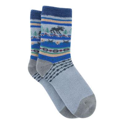 Northern Lights Cabin Heat Holder Socks