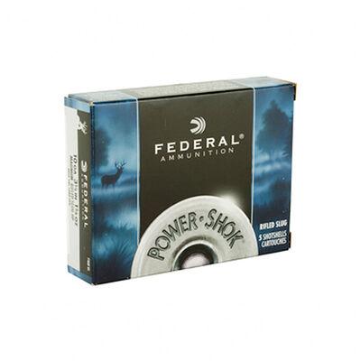 """Federal 10GA 3-1/2"""" Power Shot Rifled Slug Ammunition"""
