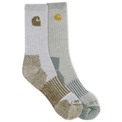 Men's Wool Blend Socks 4 Pack, Assorted Color Pack, large