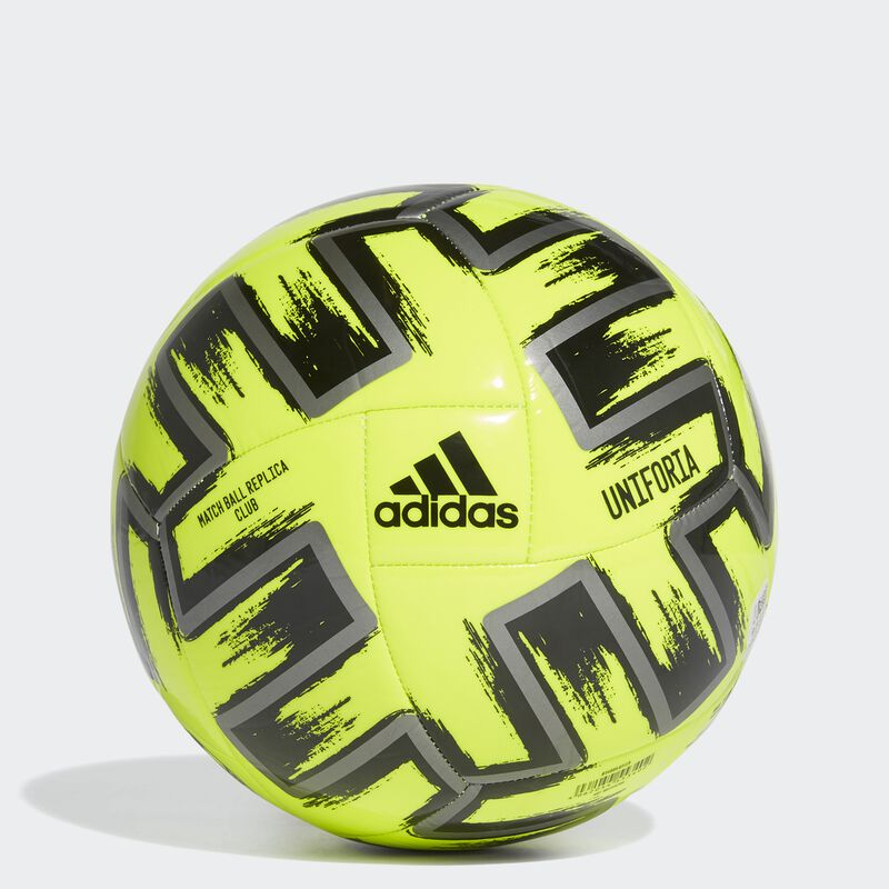 Uniforia Club Soccer Ball, Neon Yellow, large image number 3