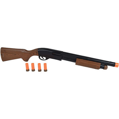 Pump Action Toy Shotgun with Electronic Sound and Shell Ejecting, , large