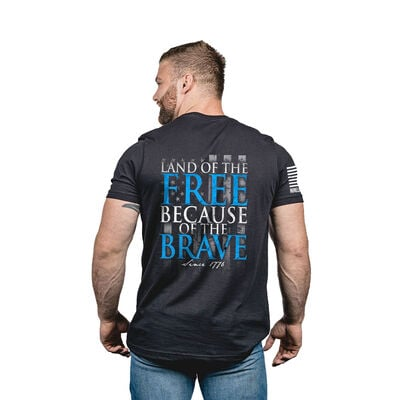Nine Line Men's Because of the Brave Tee