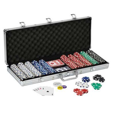 Fat Cat Texas Hold 'em Poker Set